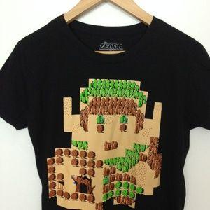 Nintendo Original Zelda Exclusive Women L T-Shirt